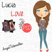 Lucia Love ~PSD- by pinkangie