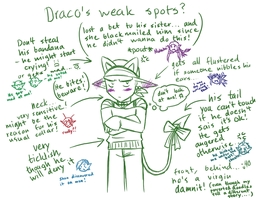 -Draco's weak spots- by Namekgirl