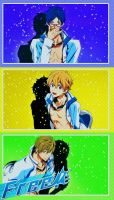 Free! Iwatobi Swim Club [KyoAni] by CChibitan