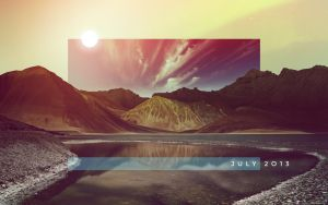 July Wallpaper by endosage