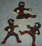 Ninja cookie trio by PlummyPress