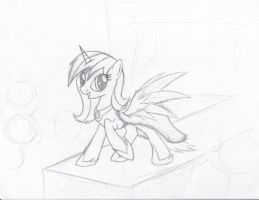 WIP - request from Akira-the-alicorn by Xeirla