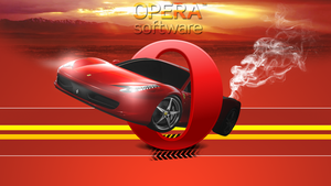 Opera Ferrari Wallpaper by Louie82Y