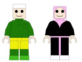 Vector: Lego Muslim by Izam01