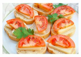 Mini  Bruschetta by VintageWarmth
