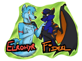Eurofurence badge ::COMMISSION:: by KaotikJuju