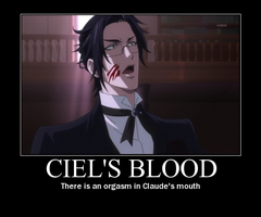 Claude Faustus - OMG DELICIOUS by toki-chanie