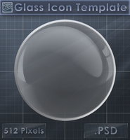 Glass Sphere Icon Template [Glass Icon] by VoidSentinel