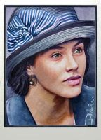 Sybil Crawley by DavidDeb