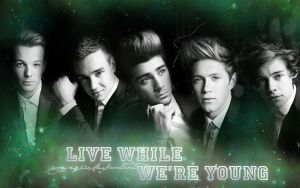 One Direction Wallpaper by AngieQs