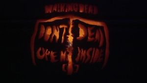 Walking Dead Pumpkin by AllHailZ