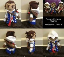 Assassin's Creed - Connor Plushie by Chibidoodles