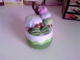Green Tea Plushie Cake by carmietee