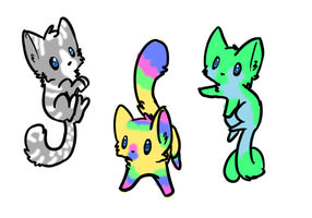 Free cats adopts (closed) by fionafox1234