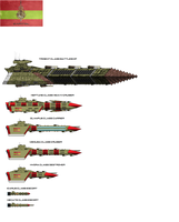 New Capitol ships WIP by EmperorMyric