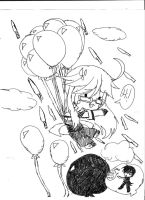 Grell's ballon trip by The-Scarlet-Maiden