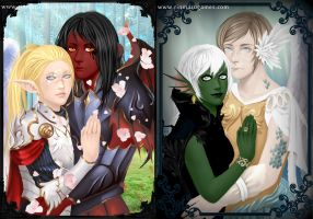 Fantasy couple creator by Rinmaru
