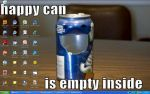 Happy Can Desktop by LitCandle
