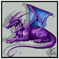 Purple Dragon by kovah