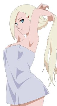 Ino after shower by kraddy07