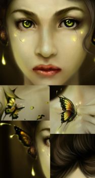 butterfly v2 closeups by cocoasweety