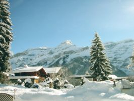 Winter Mountain House by SottoPK