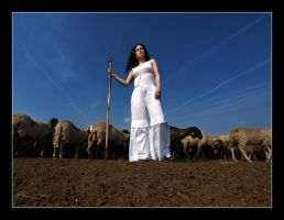 shepherdess by BorisMrdja