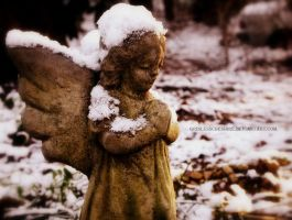 Snow Angel by PixiePoxPhotography
