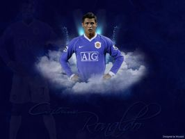 Cristiano - Bleu Wall by Federer4ever