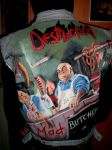 DESTRUCTION , band- ART IN JACKET by blackart2000