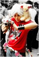 Cosplay: Hayato Gokudera within the crowd by marikit