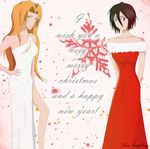 Merry christmas and a happy 2012 by PattyPaige