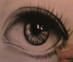 Realistic Eye by otnax12