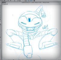 Mighty No. 9 (Beck) WIP by carlospita