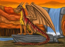 Dragon of Autumn by Ravenfire5