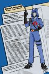 Cobra Commander Dossier by meleeinabox