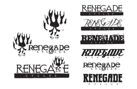 Renegade Cycles Logos by localgod325