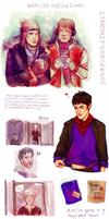 Merlin Artdump by StarshipSorceress
