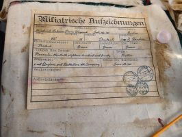 Fake Military Records by ErrataStigmata