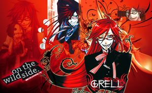 Grell Sutcliff wallpaper by Ishily