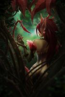 Zyra League of Legends by rukiacuhwayzie