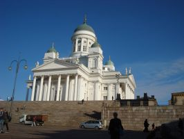 Helsinki, Cathedral by Le-ARi