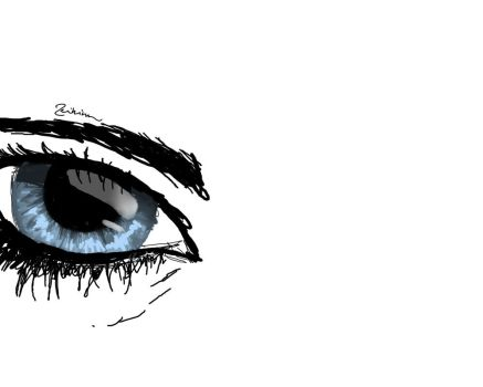 Eye Practice by Zeikinn