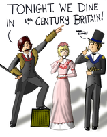 Oscar Wilde, Mr Scone, and Co. by The-Camo