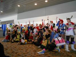 Otakon 2012 - Put Your Balls In The Air [Pokemon] by Angel1224