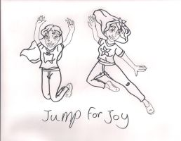 Jump for Joy by Bella-Who-1