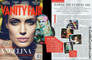 Lagoona Blue in Vanity Fair by CastleCorsetry