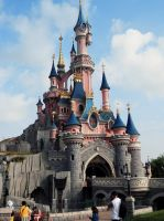 Disney Castle by Chihito