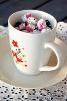 Hello Kitty Cup by SaraJArts
