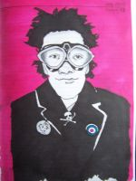 johnny rotten goggles by markcrossey